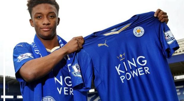 Leicester have announced the signing of striker Demarai Gray from Birmingham for an undisclosed fee