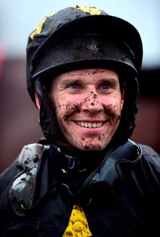 Richard Johnson recorded another landmark winner in his prolific career as St Saviour at Ludlow gave the champion jockey-elect his 3,000th career success