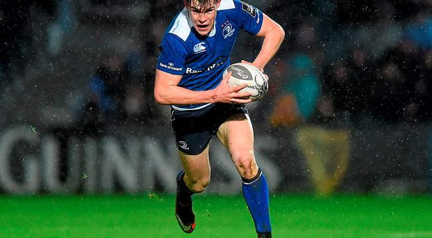 Garry Ringrose put in another impressive show against Connacht on New Year's Day. Photo: Stephen McCarthy/Sportsfile