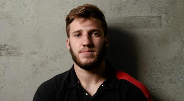 Ulster's Stuart McCloskey has been tipped for Joe Schmidt's preliminary squad. Photo: Oliver McVeigh/Sportsfile