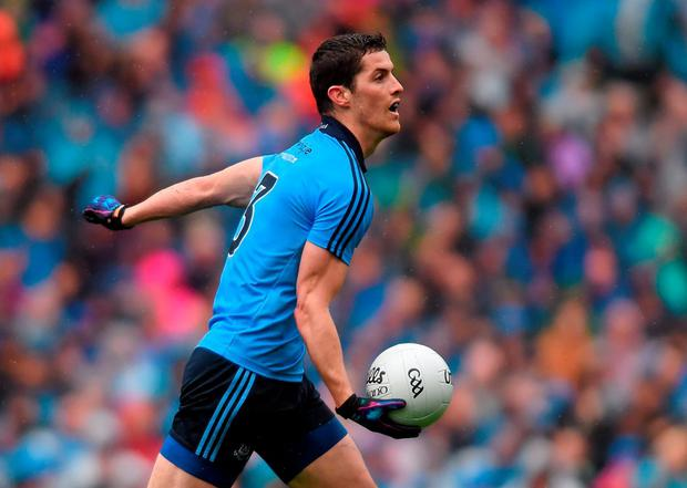 Rory O'Carroll will leave a big hole in the Dublin defence. Picture credit: Stephen McCarthy/Sportsfile