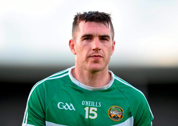 Offaly hurler Brian Carroll is calling it a day. Photo: Stephen McCarthy / Sportsfile