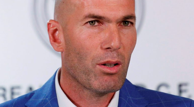 Real Madrid's new coach Zinedine Zidane: 'It's the best club in the world with the best fan-base in the world. I want to do my very best to ensure that this club at the end of the season will have a trophy' Photo: REUTERS/Juan Medina