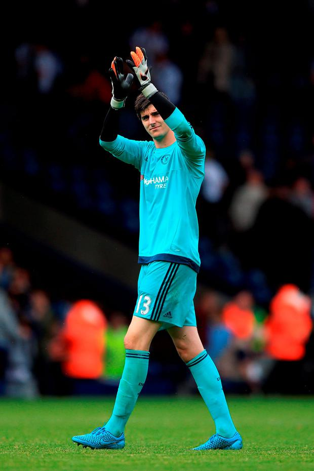 Chelsea goalkeeper Thibaut Courtois. Photo: Nick Potts/PA Wire