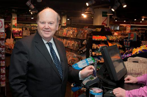 Finance Minister Michael Noonan. Photo: Gareth Chaney