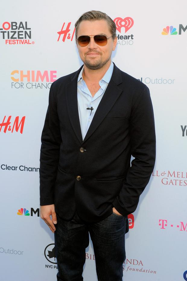 Actor Leonardo DiCaprio attends the 2015 Global Citizen Festival to end extreme poverty by 2030 in Central Park on September 26, 2015 in New York City. (Photo by Craig Barritt/Getty Images for Global Citizen)