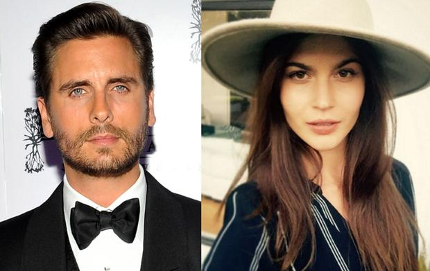 Scott Disick (left) and Lina Sandberg (right)