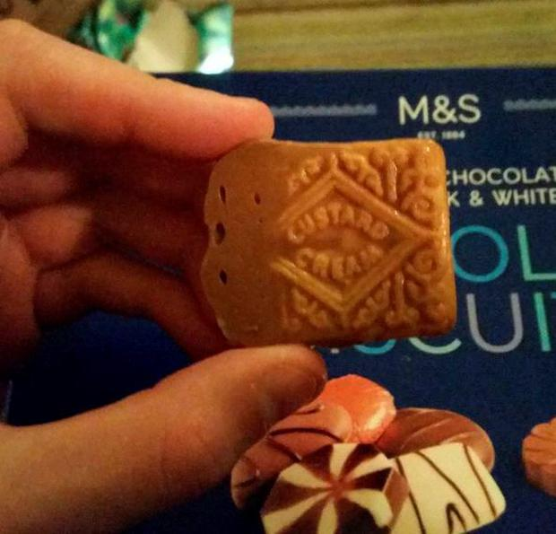 Marks & Spencer's luxury biscuits are Custard Creams in disguise
