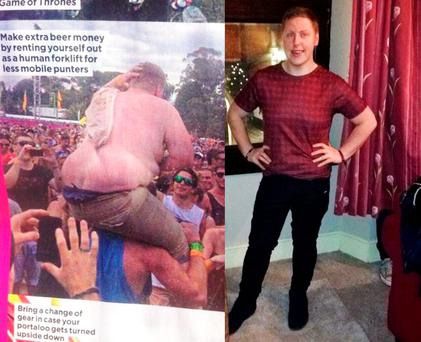 Paul Moore lost seven and a half stone after a photo of himself went viral online.