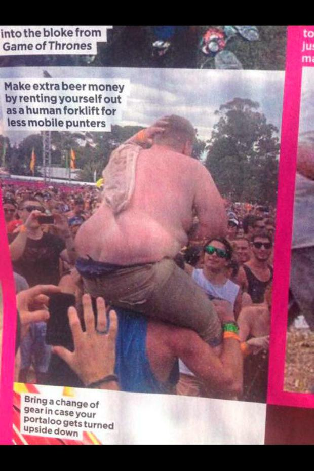 A cruel photo taken of Paul at a music festival went viral and set him on a path of self destruction