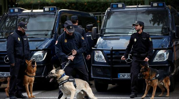 Spanish police. File picture