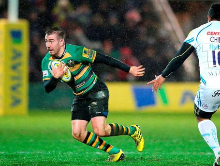 JJ Hanrahan in action for Northampton