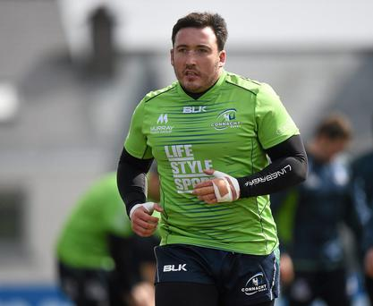 Connacht's Denis Buckley is returning from injury sooner than expected. Photo: Pat Murphy/Sportsfile
