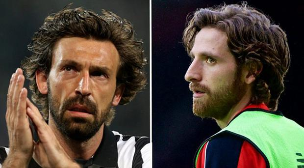 The similarities between Allen and Pirlo are undeniable