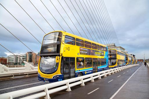 Dublin Bus carried 119.5 million passengers in 2014. Stock picture