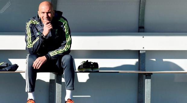 In his first press conference since taking over from Benitez, Zidane acknowledged that Bale was 'annoyed' at the decision and added that he would 'give him all my affection and support' to reassure him of his importance. AFP PHOTO/ GERARD JULIENGERARD JULIEN/AFP/Getty Images