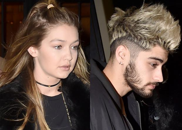 Gigi Hadid (left) is dating Zayn Malik (right)