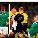 Tommy Bowe and Iain Henderson are out of the Six Nations