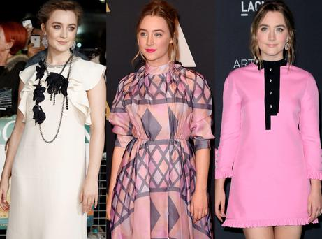 Saoirse Ronan's Brooklyn promotional wardrobe is impeccable