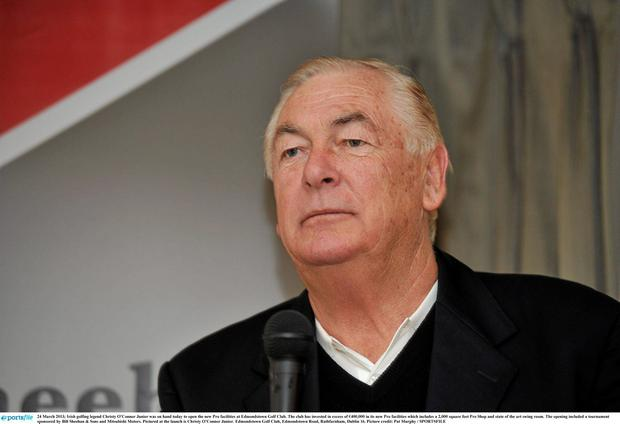 Christy O'Connor Junior has sadly passed away