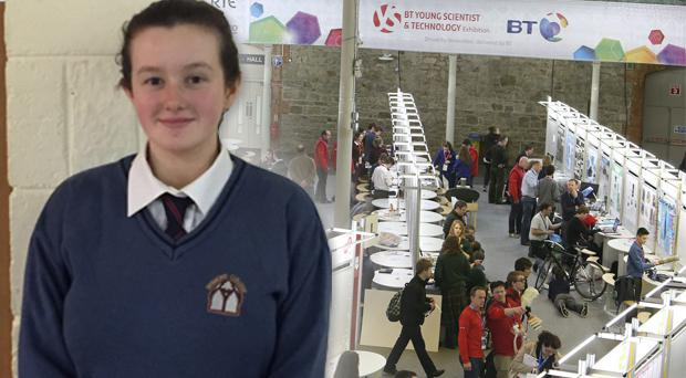 Emily Duffy from the Desmond College in Limerick