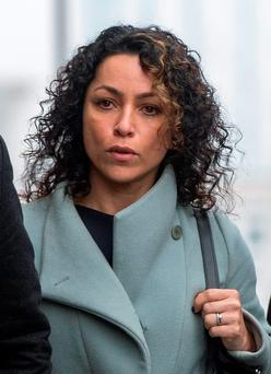 Eva Carneiro arrives at Croydon Employment Tribunal for an initial preliminary hearing as she is claiming constructive dismissal against Chelsea and also has a separate but connected case against former manager Jose Mourinho for alleged victimisation and discrimination. P