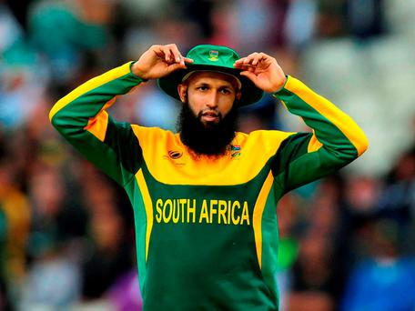 Hashim Amla has announced his resignation as South Africa cricket captain. Photo: Rui Vieira/PA Wire.
