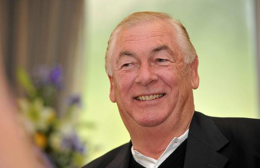Christy O'Connor Junior died suddenly today at the age of 67