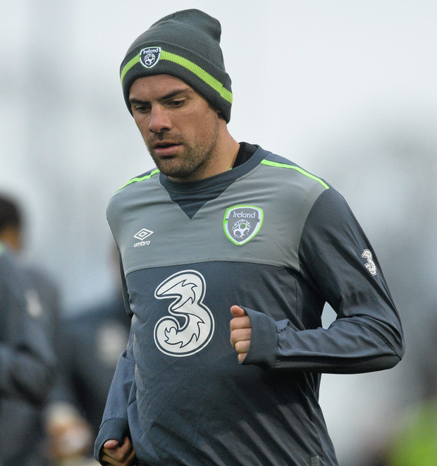 Republic of Ireland and Everton player Darron Gibson has been linked to a January transfer window option for Aston Villa and Sunderland. Photo: David Maher / Sportsfile