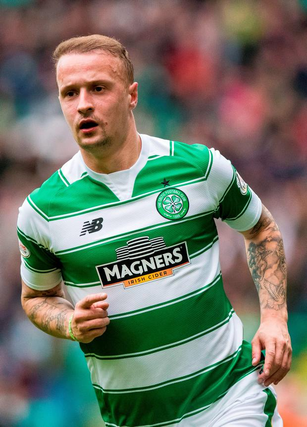 Celtic's Leigh Griffiths. Photo: Craig Watson/PA.