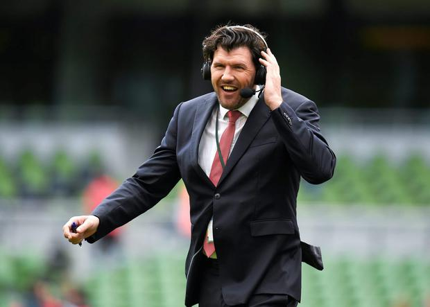 Sports analyst and former Ireland and Leinster player Shane Horgan. Photo: Stephen McCarthy / Sportsfile