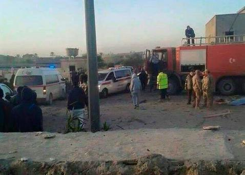 The attack in Zliten is one of the worst since the fall of Muammar Gaddafi in 2011 Credit: @AGomati