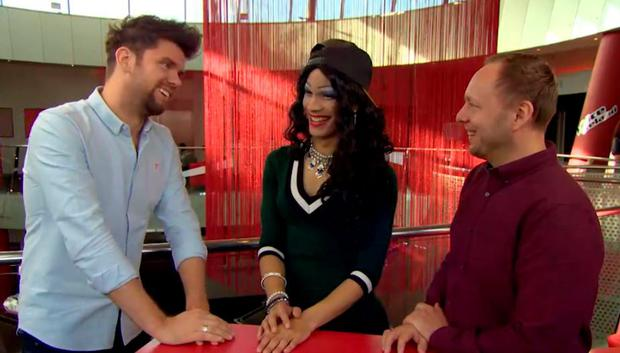 Emmie Reek and fiance Marcin chat to Eoghan McDermott on The Voice of Ireland