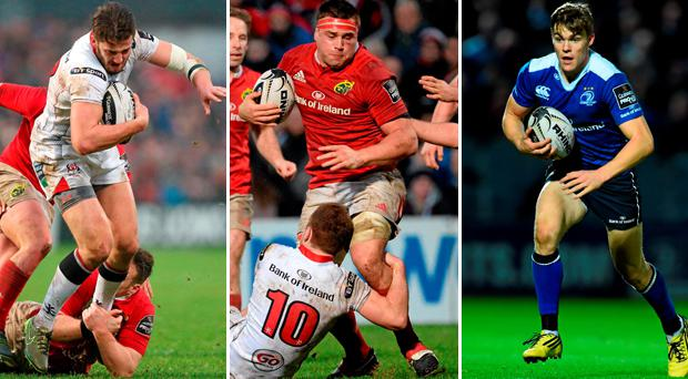 Stuart McCloskey, CJ Stander and Garry Ringrose should see action in this year's Six Nations