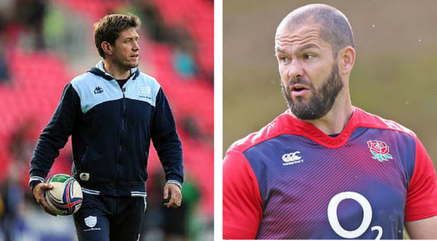Ronan O'Gara and Andy Farrell