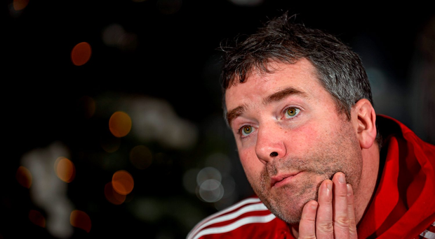 'Last weekend's win in Ulster was a welcome boost for an under-fire Anthony Foley (p) but it was hardly cause for major celebration' Photo:Sportsfile