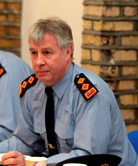 Garda Chief Supt Diarmuid O'Sulliva. Picture: Arthur Carron/Collins
