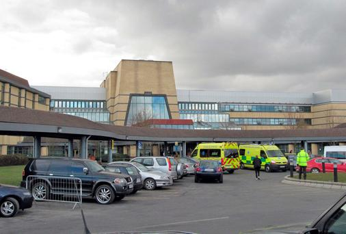 Tallaght Hospital in Dublin, which received €5m from the HSE to upgrade its emergency department. Photo: Colin Keegan