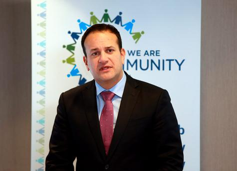 Leo Varadkar. Picture Credit: Frank Mc Grath