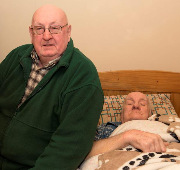Colm with brother James (Photo: North West Newspix)