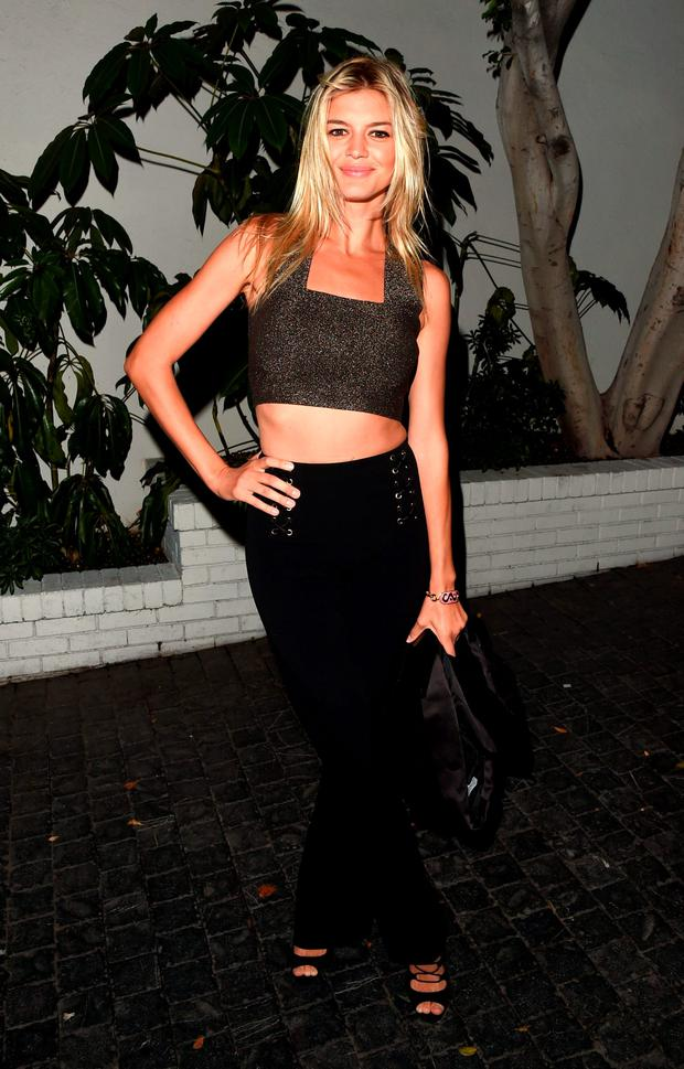 Model Kelly Rohrbach attends the W Magazine celebration of the 'Best Performances' Portfolio and The Golden Globes with Audi and Dom Perignon at Chateau Marmont on January 7, 2016 in Los Angeles, California. (Photo by Jason Merritt/Getty Images for W Magazine)