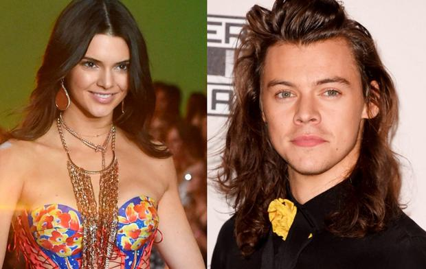 Kendall Jenner (left) and Harry Styles (right)