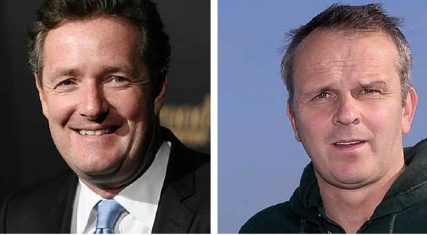 Piers Morgan and Didi Hamann