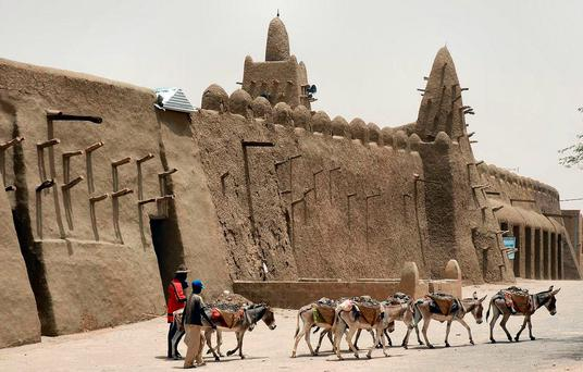 The woman was taken from her home in Timbuktu