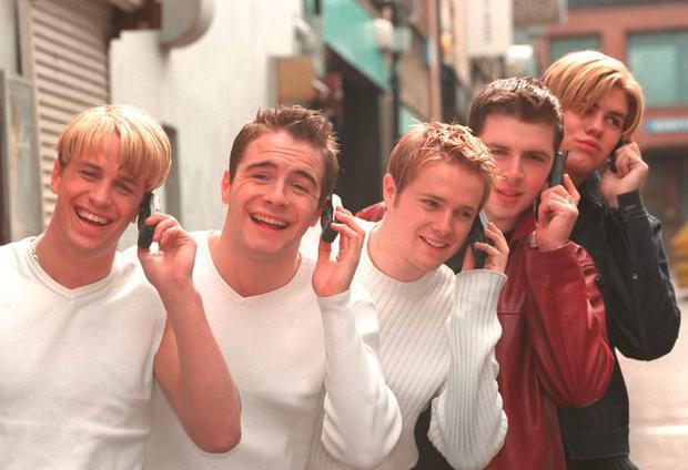 Brian McFadden in his Westlife days