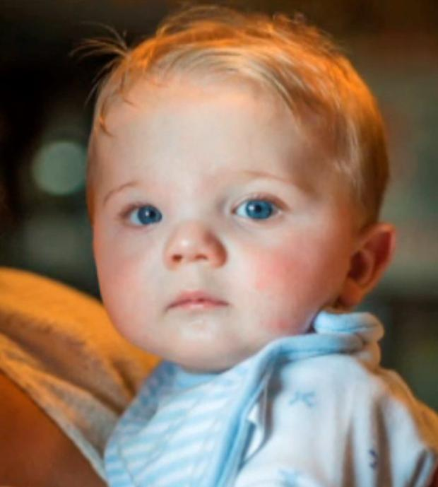 Baby Leo was born in 2014