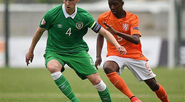 Irish underage international Conor Masterson