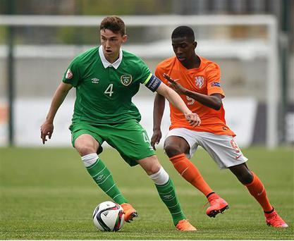 Republic of Ireland U17 international Conor Masterson