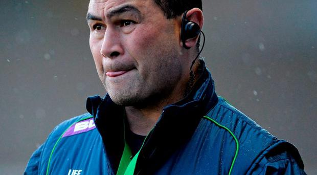 Connacht coach Pat Lam. Photo: Seb Daly / Sportsfile