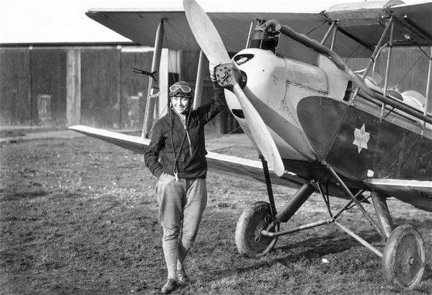 Johnson made history when she flew solo from Britain to Australia, in 1930